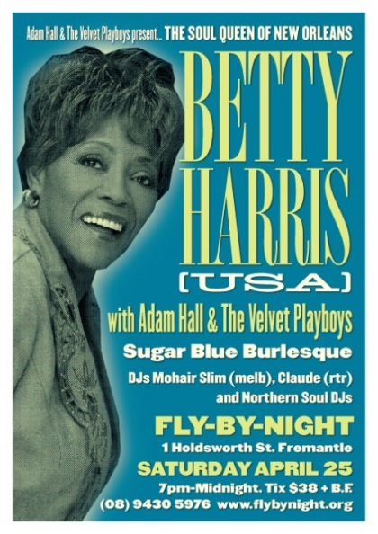 Betty Harris Flyer