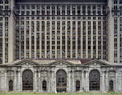 Ruins of Detroit - building