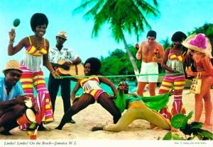 jamiaca vintage postcard